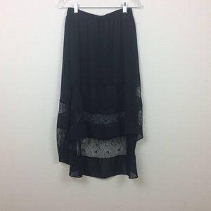 English Rose Lace Embellished Skirt